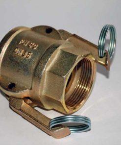 35mm female camlock 1 & 1/2 inch BSP female thread